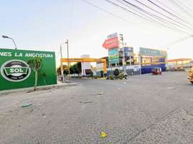 AMPLIO TERRENO EN AVENIDA Y ESQUINA A 100 MTS DE LA PANAM SUR