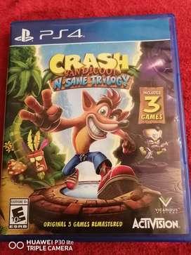 Crash bandicoo ps4