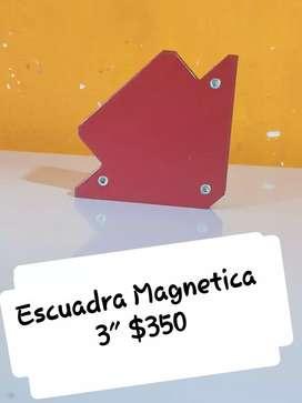 """escuadra Magnetica  3"""""""