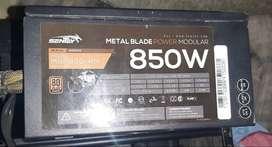 Fuente sentey 850w 80plus