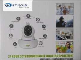 CAMARA ROBOTICA IP,SEGURIDAD INTERIOR FULL HD,WIFI