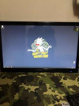 """Monitor viewsonic 24"""" touch"""
