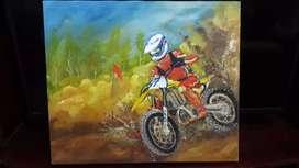 Cuadro Motocross