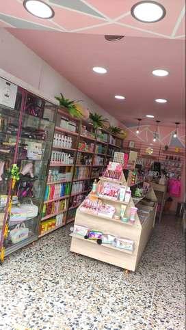 tienda dedicada a la venta y distribución de productos de belleza,maquillaje y cuidado persona