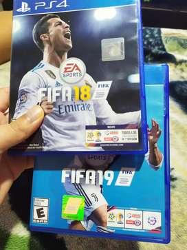 Vendo FIFA 18 y 19