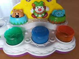 Centro de actividades luces sonidos bebé circus pounder