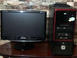 Computadora escritorio con disco solido Pc Compu Computadora de Escritorio