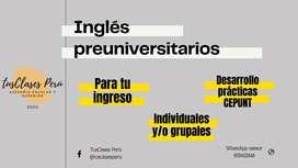 Ingles para preuniversitarios ORDINARIO / CEPUNT