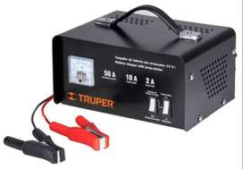 Cargador De Baterías 12 V, 50 A. Truper