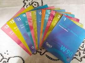 Revistas Manual De Windows 98 Fasciculo 1 al 13 (falta el 10) Excelentes!!!
