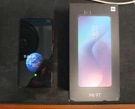 Xiaomi Mi 9T de 128GB y 6GB RAM en perfecto estado, incluye forro antigolpes importado.