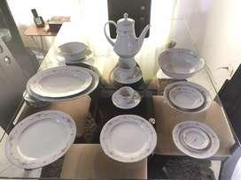 Vajilla en porcelana