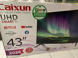 Caixun Smart Tv UHD 43 pulgadas nuevo