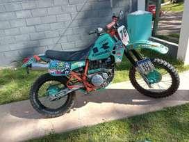 Kawasaki KLR 250 caja 6ta