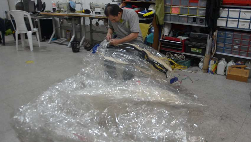 Mantenimiento de inflables water zorb 0