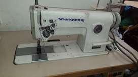 Maquina industrial 2 agujas shanggong