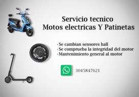 Servicio tecnico motos electricas