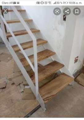 Ofrezco mis servicios como pintor y realizo portones escaleras