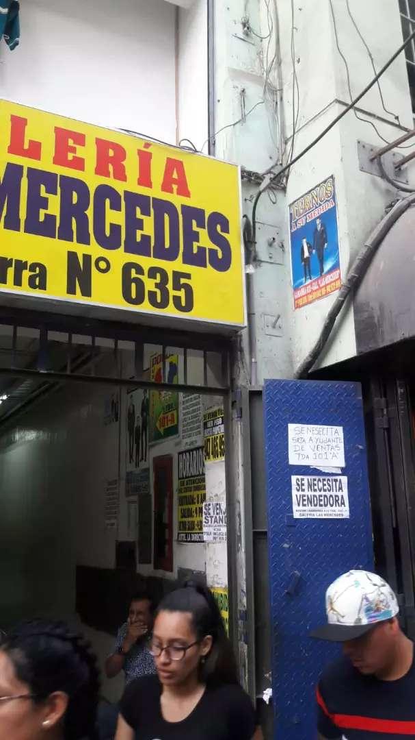 ALQUILER DE TIENDA EN GAMARRA cuadra 635 0