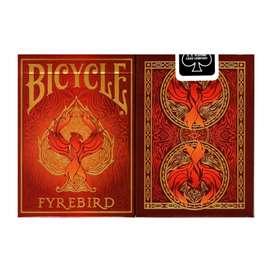Baraja De Cartas Bicycle Firebird Original. Por Banimported