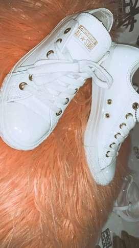 Zapatillas converse blancas cuero economicas