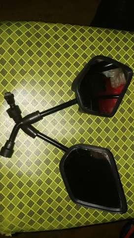 Espejo para Moto Lineal  o bicicleta el par Oferto