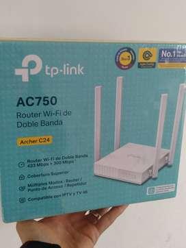 Router Tplink Archer C 24 AC 750
