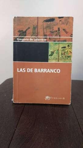 *Las de barranco* Gregorio de Laferrere  - Terramar Ediciones _*2 unidades*_
