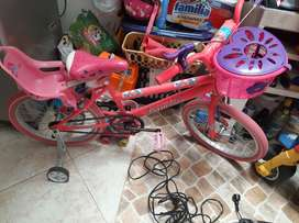 Bicicleta Niña 150 mil