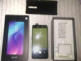 Vendo Xiaomi Mi 9T con caja, cargador, audífonos original y vidrio cerámica