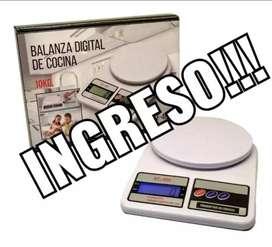 Balanza de cocina digital 10kg.