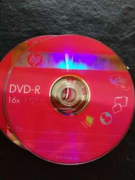 Lote de DVD y cds