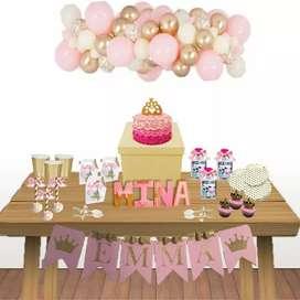 Party box, Celebra en casa con esta caja con todo lo necesario para tu fiesta
