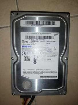 REMATO DISCO RIGIDO SANSUNG SATA 320 GB
