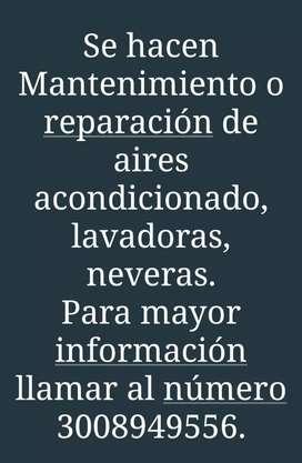 Mantenimiento y Reparación.