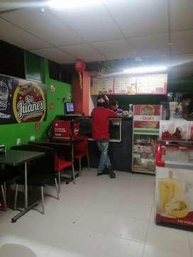 Vendo negocio de comidas rapidas