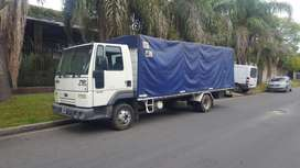 CAMION FORD CARGO 712  CON CAJA SIDER BACCO 7MTS