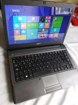 Vendo portatil acer 500gb en Disco, 4gb de ram. Procesador intel ultimas unidades., usado segunda mano  Playón La Playita III