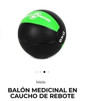 Balón medicinal 6kg Sportfiness