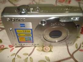 Camara De Fotos Sony Ciber-shot 7.2 Completa Exc Funcionamie