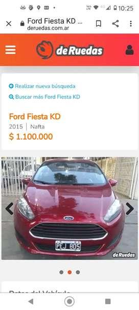 Vendo hermoso auto