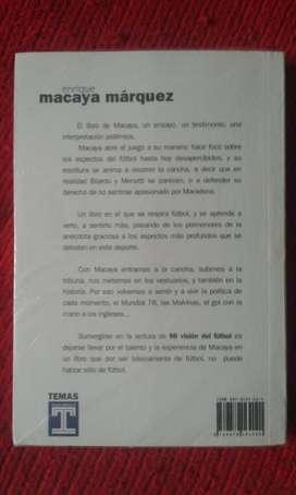 Libro De Enrique Macaya Marquez Mi Visión Del Fútbol