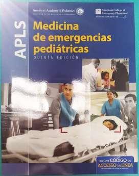 SE VENDE APLS MEDICINA DE EMERGENCIAS PEDIÁTRICAS