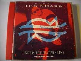 ten sharp under the water line cd import. m/b estado cd