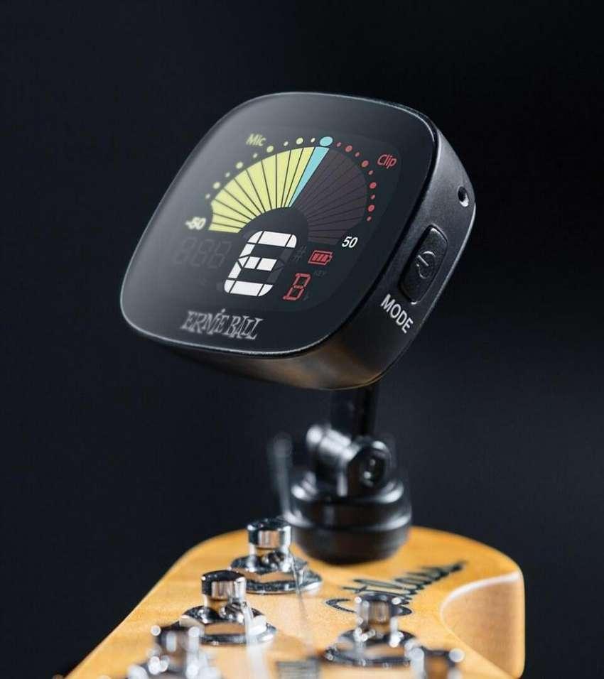 Afinador Cromático para Instrumentos de Cuerda ERNIE BALL MADE IN USA 0