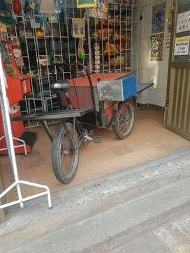 vendo triciclo carga 550.000