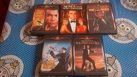 James bond dvd 5 peliculas originales