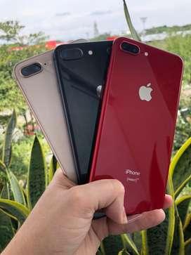 iPhone 8 plus 64, 256gb seminuevos y usados. SOMOS TIENDA FISICA