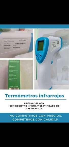 Vendo termometros infrarojo
