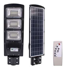 PAGA AL RECIBIR Lampara Exterior Solar Led De 60w 90w 120w Con Sensor De Luz